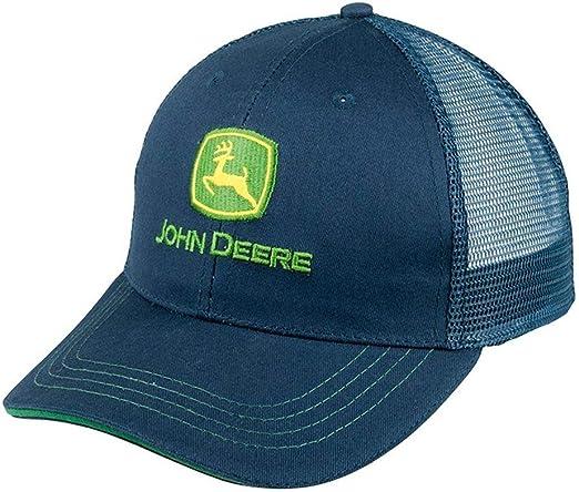 John Deere - Gorra de béisbol - para Hombre Azul Azul Talla única ...