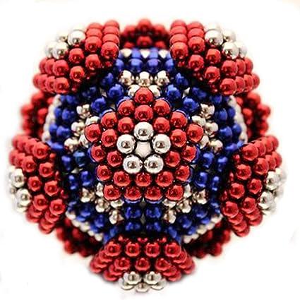 soluzioni per la riduzione dello stress creativo frigoriferi costruzioni 6 colori Bacchette magnetiche 216 e 5 mm per piastre magnetiche lavagne bianche puzzle 3D a colori per adulti // bambini