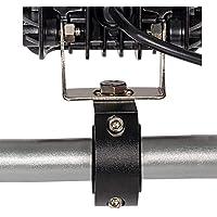 LNIEGE Kit Staffa di Montaggio Staffa del Rullo Asta Verticale Tubo Flessibile Morsetto Tetto Adatto per la Maggior Parte dei Fuoristrada Camion Navi Auto