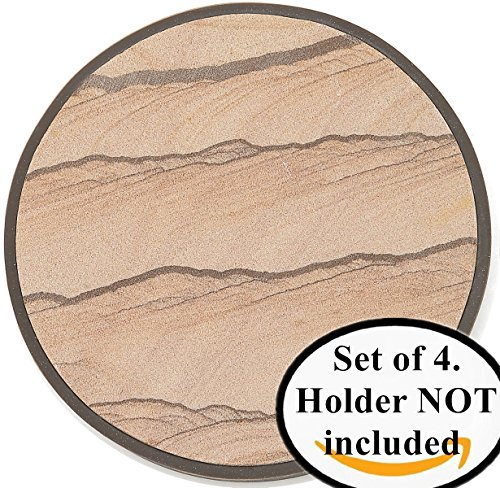 stone-coasters-in-protective-casing-keep-furniture-safe-from-damage-by-excess-cold-condensation-mois