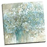 Portfolio Canvas Decor Hydrangeas by E. Franklin Large Canvas Wall Art, 24 x 24″ Picture