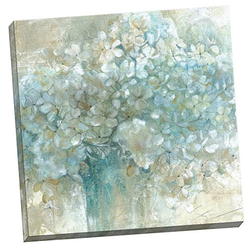 (Portfolio Canvas Decor Hydrangeas by E. Franklin Large Canvas Wall Art, 24 x 24)