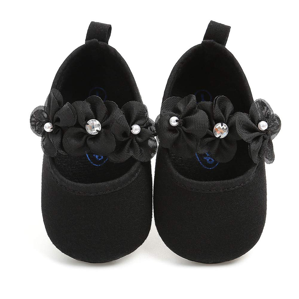 Infant Toddler Flat Shoes Toddler Sole Mary Jane Princess Christening Baptism Crib Shoes Memela