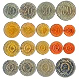 Set of 9 Coins from Yugoslavia. 25, 50