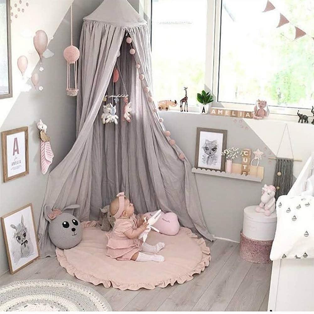 Tappetino per neonato in cotone a forma di farfalla Tappeto da vivaio Tappetino da gioco Tappetino da gioco Tappeto strisciante Coperta da gioco per la decorazione della camera dei bambini Pink