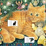 Ivory Cats Hark the Herald Angels Sing advent calendar (with (Flame Tree Calendars 2015)