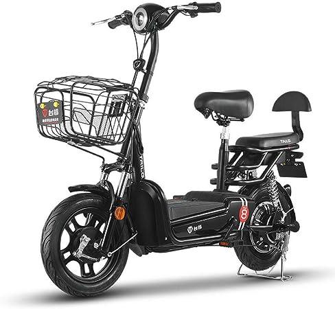 Hokaime Bicicleta eléctrica Bicicleta eléctrica de Dos Ruedas ...