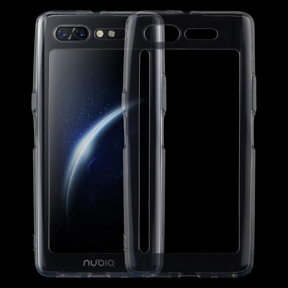 Caja protectora transparente TPU caja del teléfono ultrafino de 0,75 mm Para la cubierta del teléfono ZTE Nubia X yinghua: Amazon.es: Instrumentos musicales