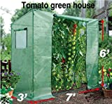BenefitUSA Tomato Green House 7'X3'X6' plant Outdoor Planting Greenhouse Cover (Frame Does Not Included)
