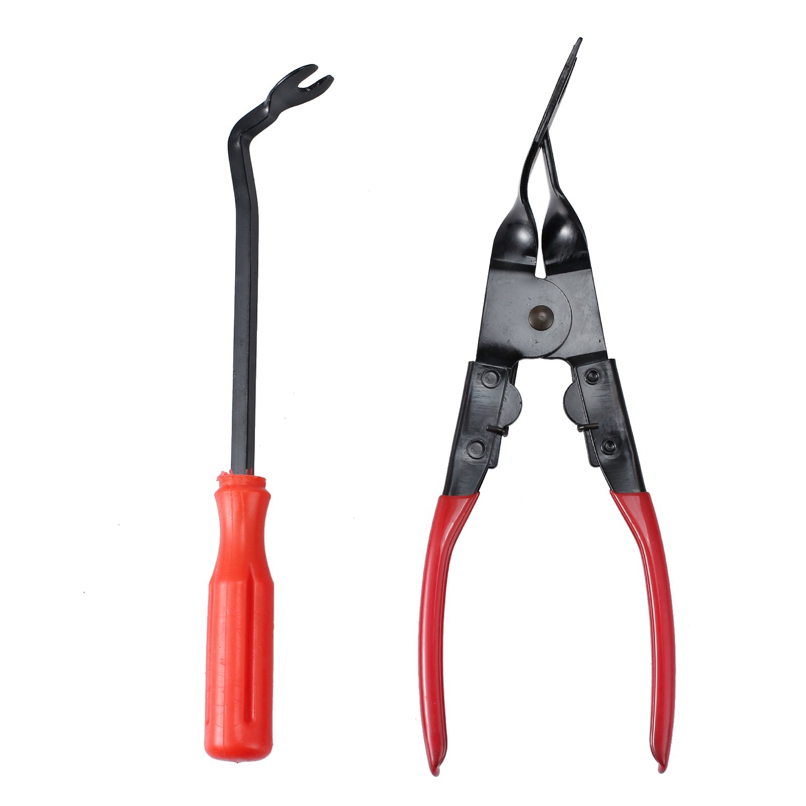 ESYNIC Universal Car Door Panel Trim Clip Removal Plier Upholstery Remover Pry Bar Tool Kit