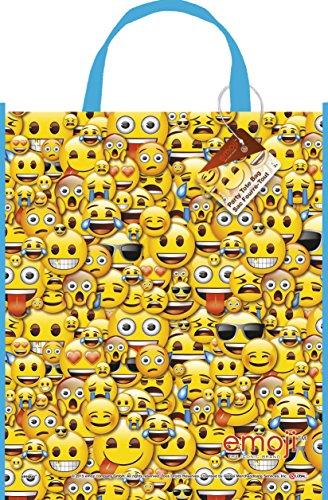 Large Plastic Emoji Goodie Bag
