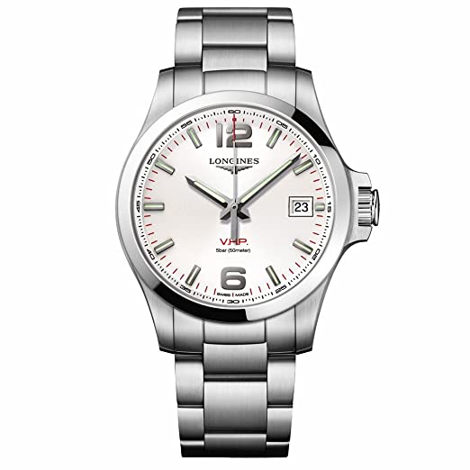b49840812 Watch Longines Conquest V.H.P.: Amazon.co.uk: Watches