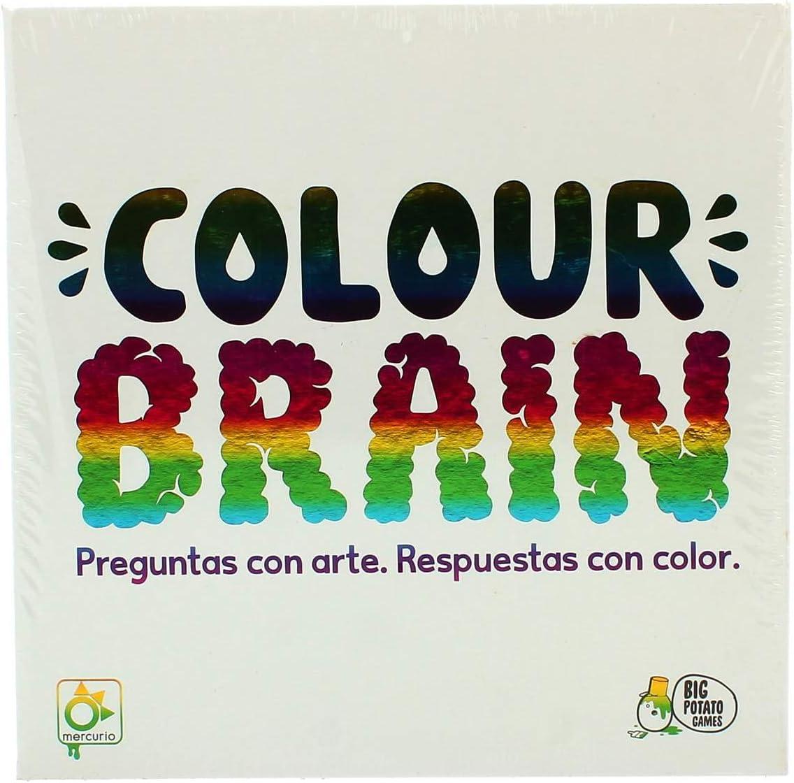 Mercurio Colour Brain - Juego de Mesa [Castellano]: Amazon.es ...