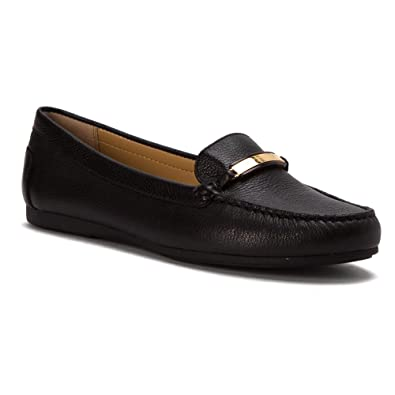 Loafers for Women On Sale, Black, 2017, 4 Michael Kors