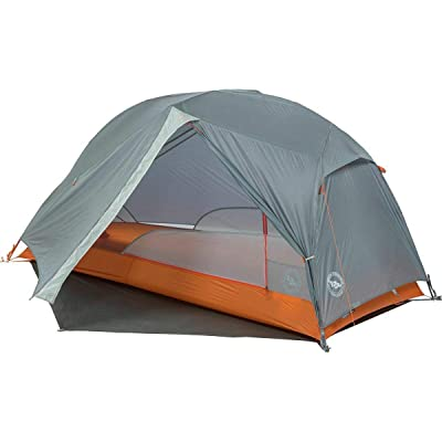 RT One Size Gray/Orange UL1 Copper Spur HV Bikepack 1-Person 3-Season Tent: Garden & Outdoor