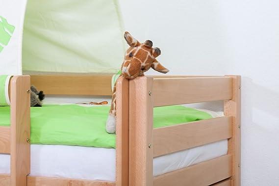 Etagenbett Moritz Montageanleitung : Kinderbett etagenbett moritz l buche vollholz massiv natur mit