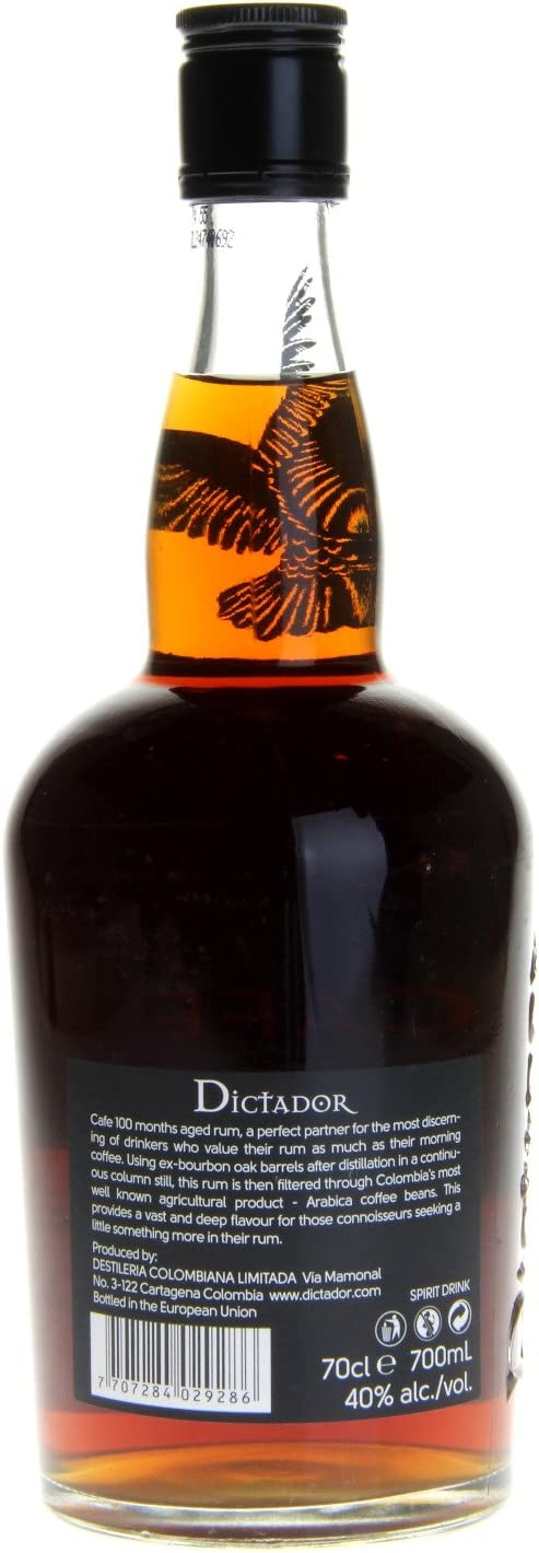 Dictador Dictador Cafe 100 Months Aged Spirit Drink 40% Vol. 0,7L - 700 ml
