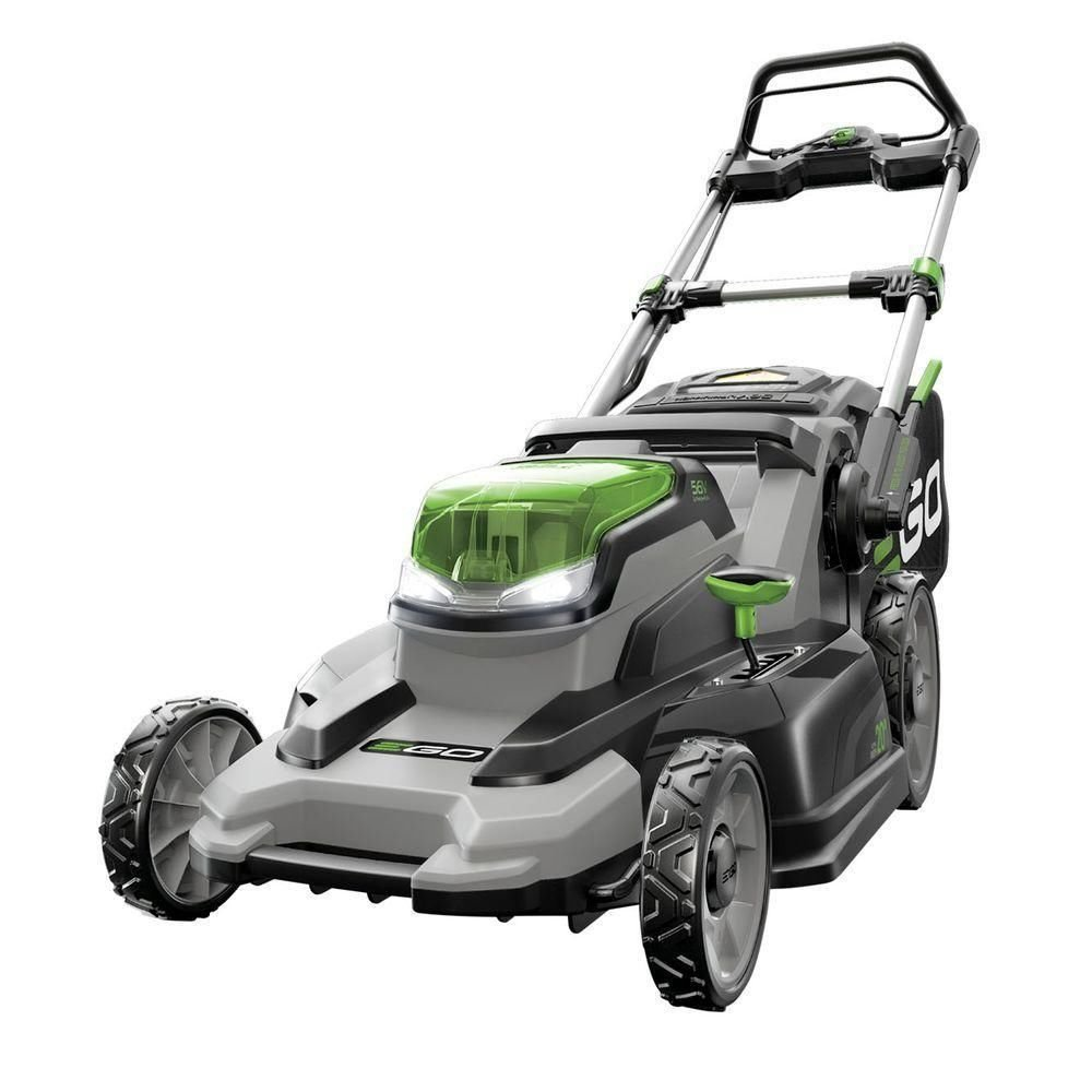 Amazon.com : EGO Power+ 20-Inch 56-Volt Lithium-ion Cordless Lawn Mower -  4.0Ah Battery and Charger Kit : Garden & Outdoor