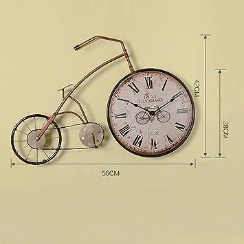 Amazon.com: Hongyan Retro style living room creative bicycle wall ...