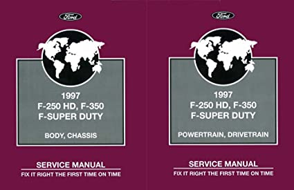 1997 ford f250 repair manual online free
