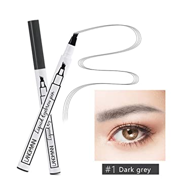 Amazoncom Waterproof Fork Tip Eyebrow Tattoo Pen Smudge