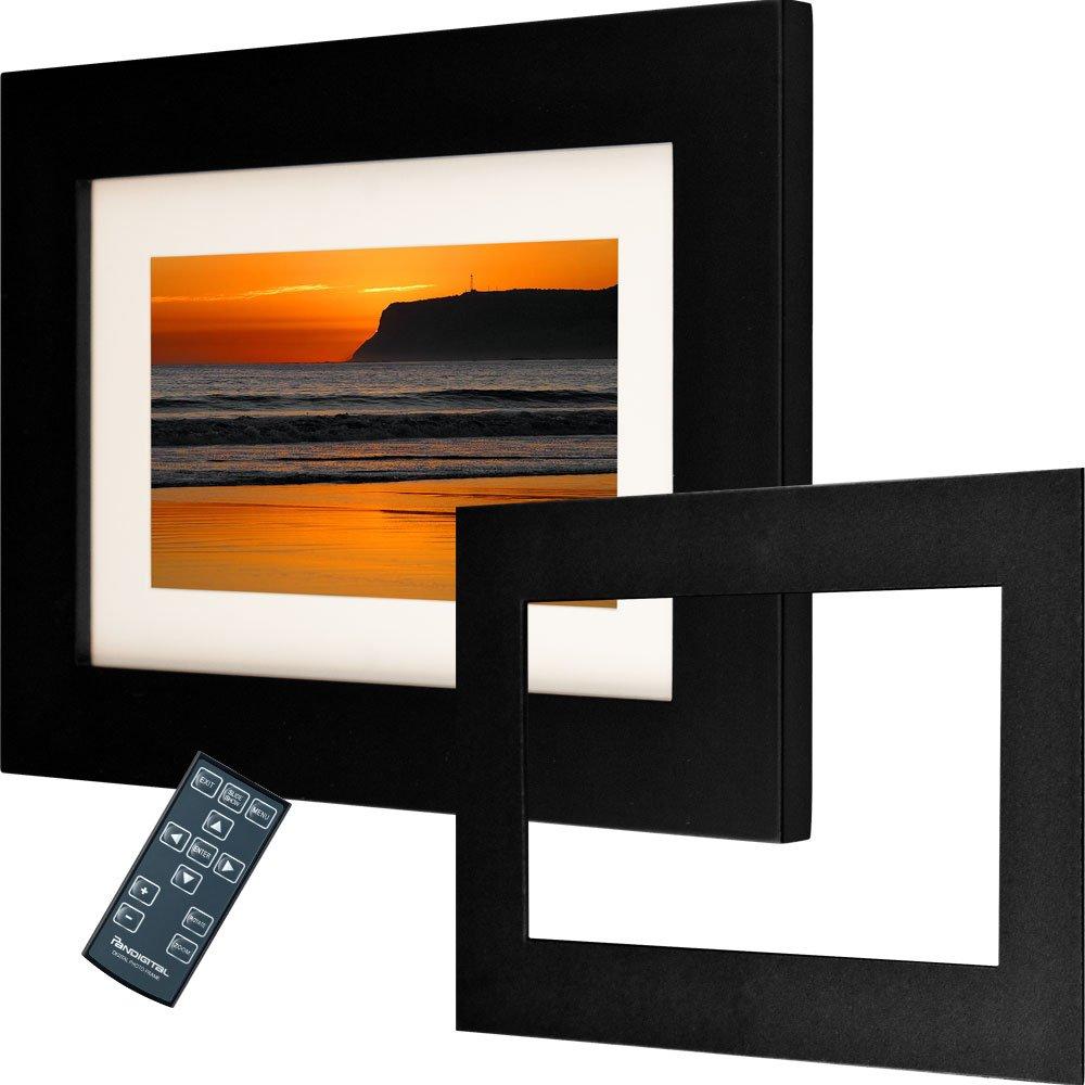 Pandigital Panimage PI7002AW 7-Inch Analog Digital Picture Frame (Black)