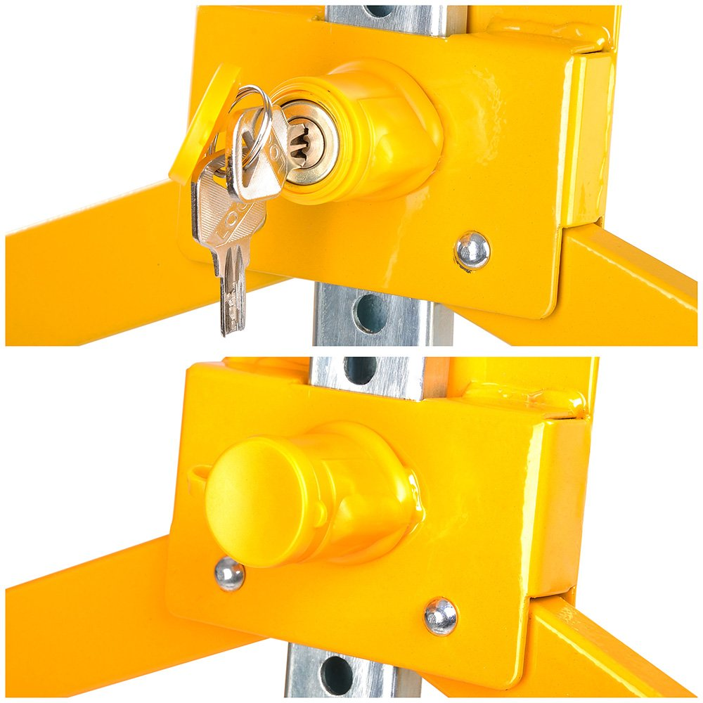 Yescom Car Tire Wheel Lock 20 Holes Adjust Auto Truck Anti-Theft Security Towing Device