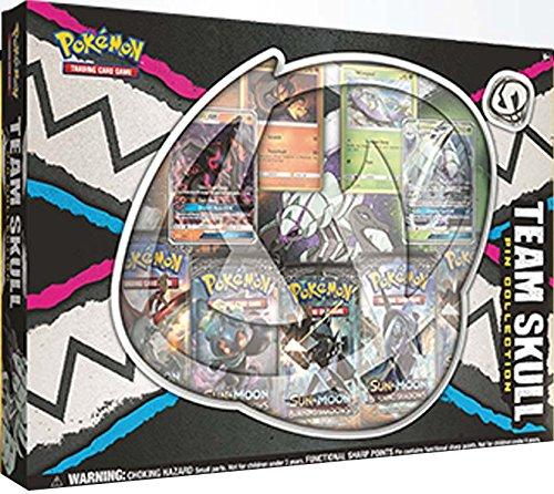 Team Collector Box (Pokemon Team Skull Pin Collection Box + 5 FREE Codes)