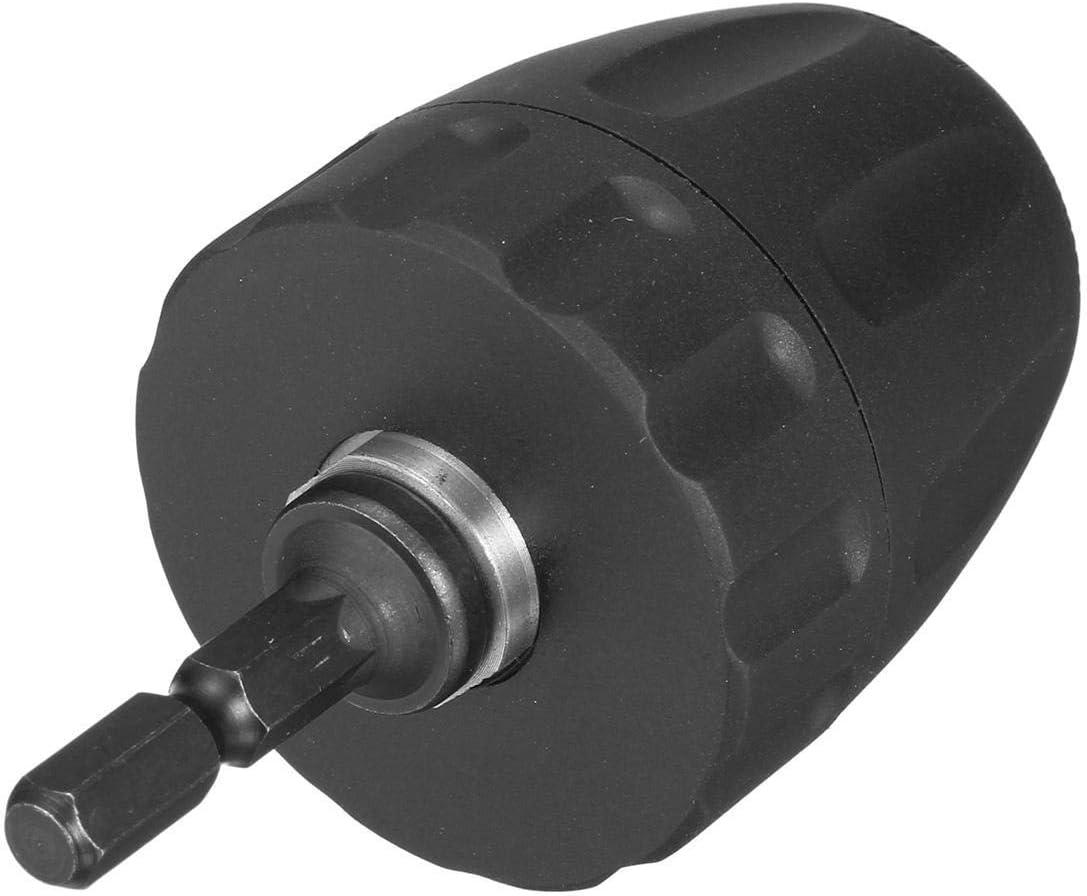 1//4 Inch Hex Shank Adapter 0.8-10mm Keyless Drill Chuck Converter Fit for Electric Drill Drill Chuck Cutting Tools CHUNSHENN Power Tool Accessories
