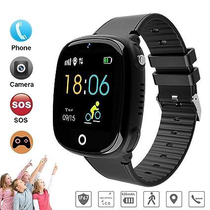 Amazon.com: 2019 Children Smart Watch Phone, IP67 Waterproof ...