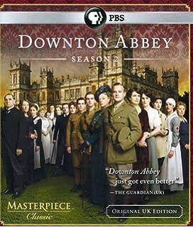 masterpiece classic downton abbey season 2 original uk edition blu ray - Downton Abbey Christmas Special