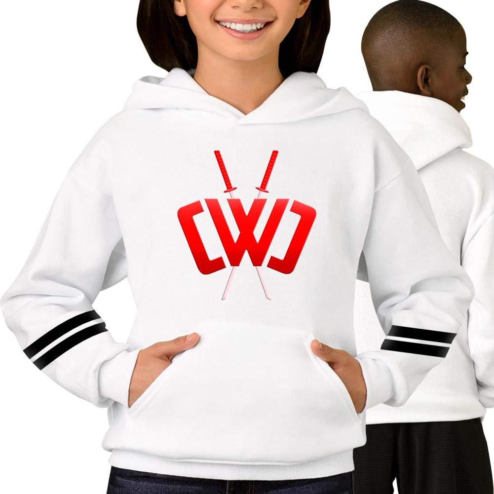 Unisex Chad-Wild-Clay-CWC Hoodie Sweatshirt Pocket Long Sleeve Hooded Sweatshirt Boys Girls Hoodie