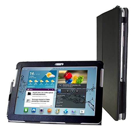 Amazon.com: Para Samsung Galaxy Tab 2 10.1 Funda Flip Cover ...