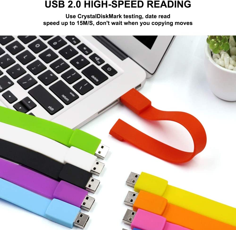 MB//S Portable Multi-Coloured Thumb Drive with Data Transfer Rate 2400 //Waterproof and Dustproof and Durable Enoug for PC and Compatible Computer Yehyep USB 2.0 Memory Stick