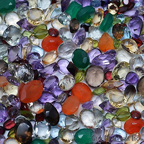 1500+ Carats Loose Mixed Gems Wholesale Lot. Natural Faceted Semi Precious Gemstones. Gemmartusa loose Gemstone by GemMartUSA Loose Gemstone (Image #2)