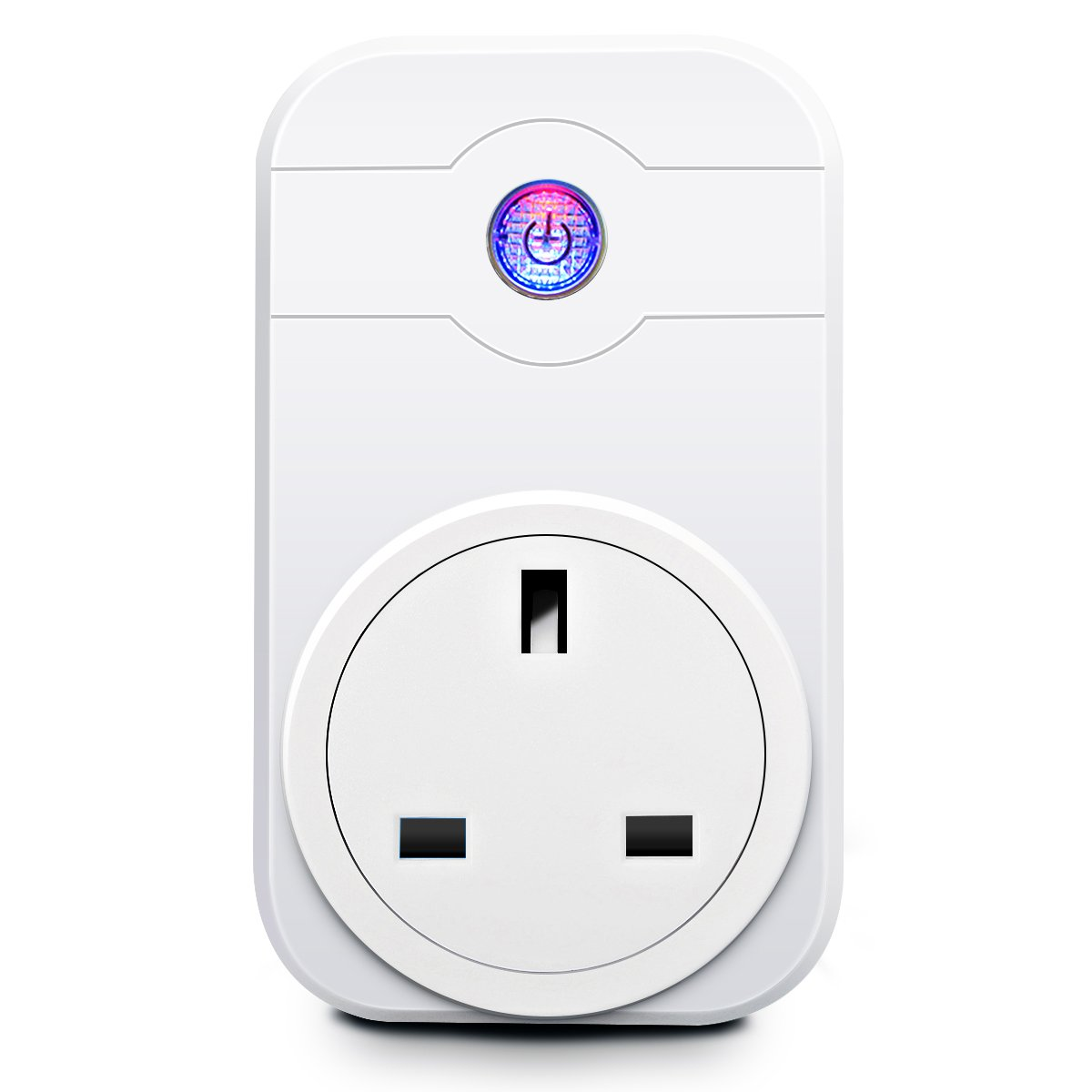 Smart Plug, ELEGIANT 2.4G WiFi Smart Timer Socket Work with Echo Alexa/Google Home Assistant Cell Phone Wireless Remote Control Turn On/Off Electrics Switch for Household Appliances ELEGIANT Co. LTD