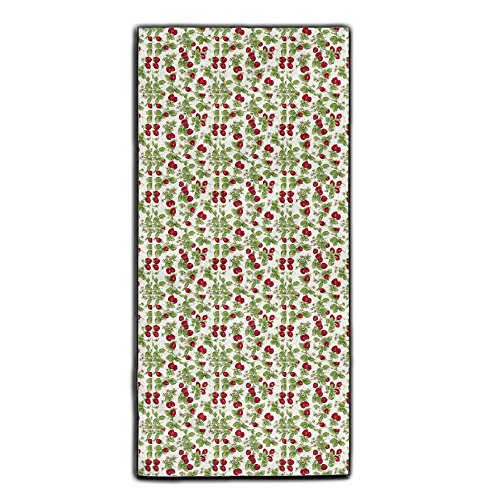 White Red Strawberries Decorative Kitchen Towels Perfect Vintage Modern Funny For Thanksgiving And Christmas Gifts