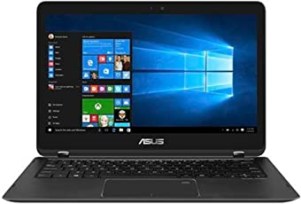 "ASUS UX360UAK-C4320T Portátil de 13.3"", Intel Core i5 7200U, 8GB RAM, 256 SSD, Windows 10, color Negro Reacondicionado (Certified Refurbished)"