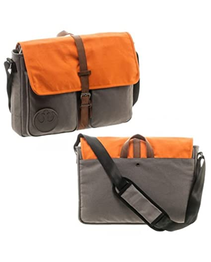 Image Unavailable. Image not available for. Color  Star Wars Rebel Alliance Canvas  Messenger Bag c522974db3ab6