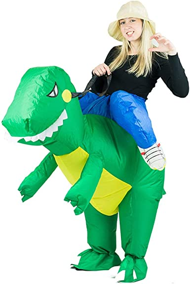 Amazon Com Bodysocks Adult Inflatable Dinosaur Fancy Dress Costume Clothing
