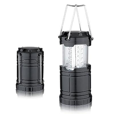 Primi randonnée Camping et les urgences Lanterne 30LED pliable Lanterne de camping léger