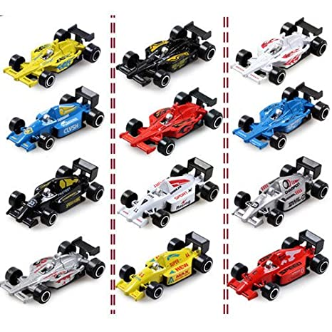 Amazon.com : Scale car 1 87 model on sale mini f1 car coche ...