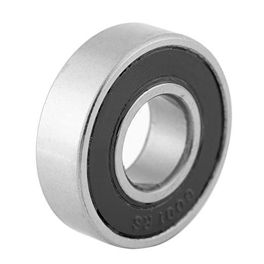 12x28x8mm Household Appliances etc 6001-2RS Ball Bearings,Acogedor 10 Pcs Durable Multi-Use Rubber Sealed Ball Bearings for Industrial Machines Cars Ships