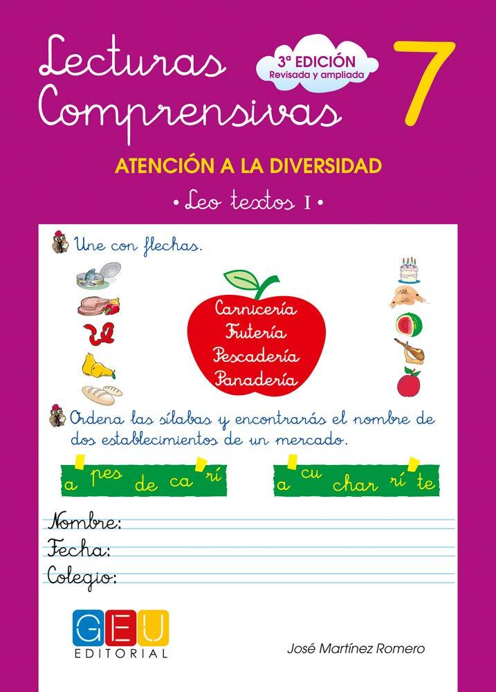 Lecturas comprensivas, 7 (Spanish) Paperback – June 1, 2010