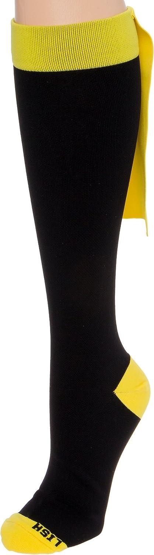 LISH Superhero Compression Socks Graduated 15-25 mmHg Knee-Hi Socks