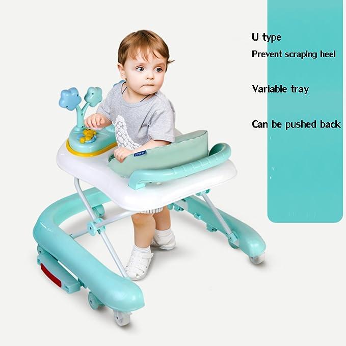 DULPLAY 6 - 18 Meses Andador de bebé, paseador de Aprendizaje ...
