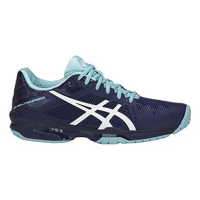 ASICS Gel-Solution Speed 3, Zapatillas de Tenis para Mujer: Amazon ...