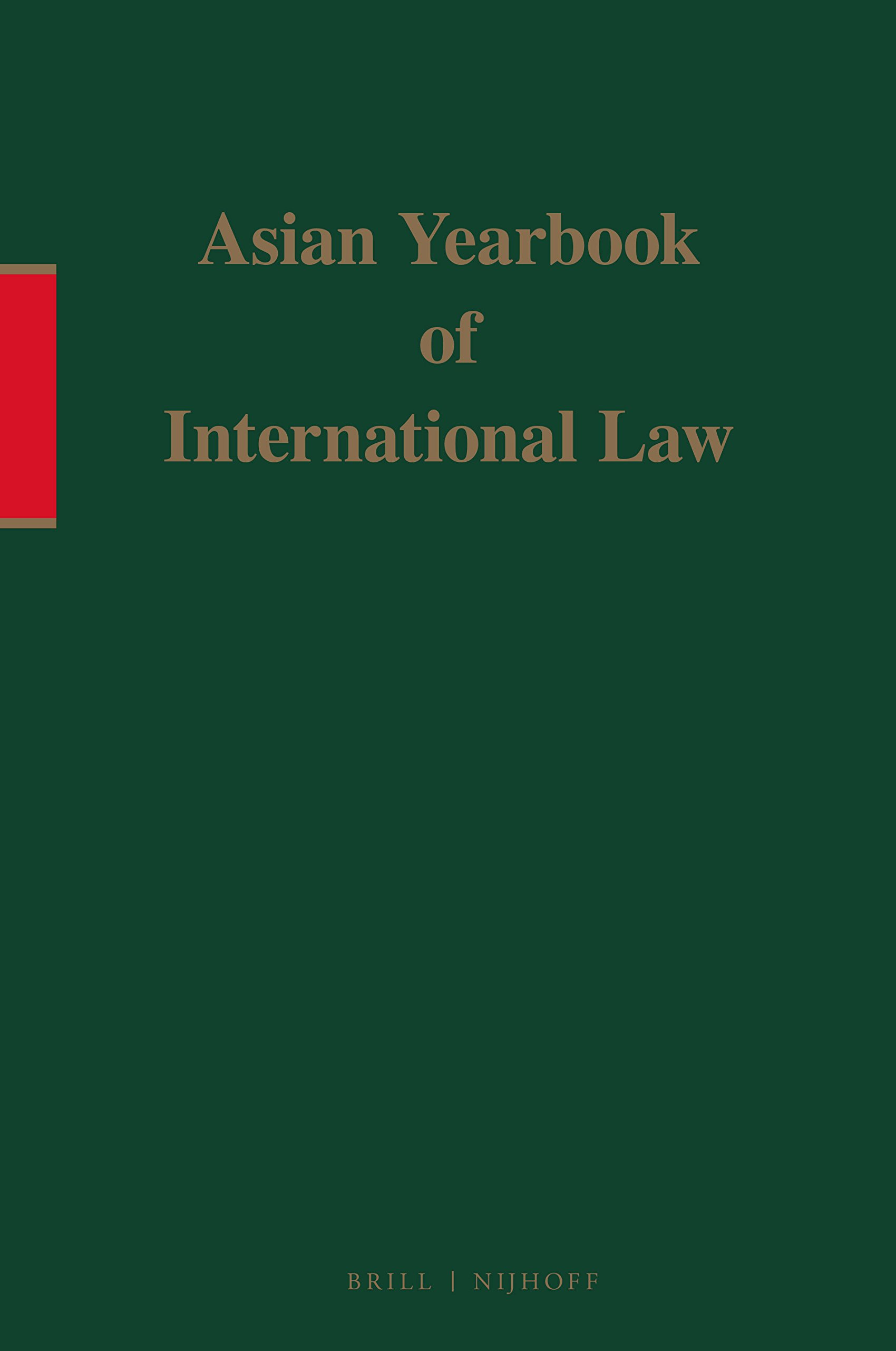 Asian Yearbook of International Law, 1997 pdf