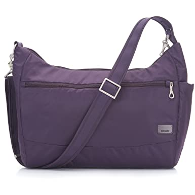 abd01eeadc8f PacSafe Women s Citysafe Cs200 Anti-Theft Handbag-Mulberry Travel Cross-Body  Bag One