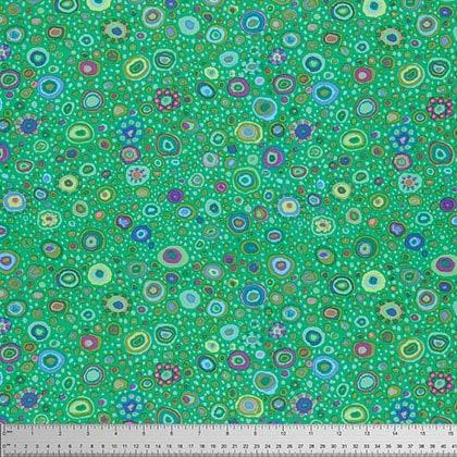 (Free Spirit Fabrics Kaffe Fassett 2016 Collective Emerald Roman Glass )